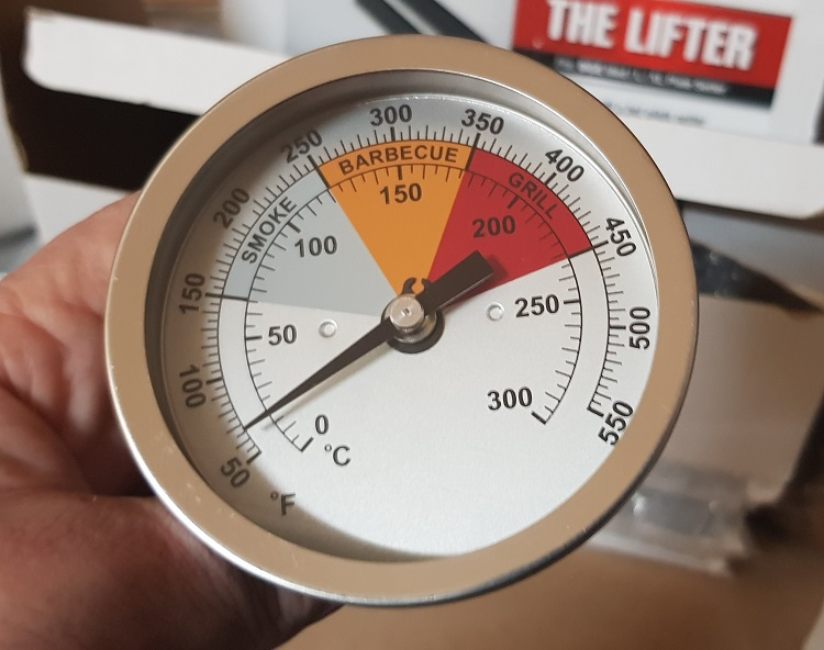 Forge BBQ Temperature Gauge 3