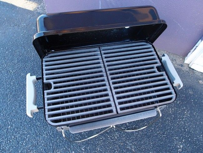 Go Anywhere Weber.Cast Iron Grill For Weber Go Anywhere
