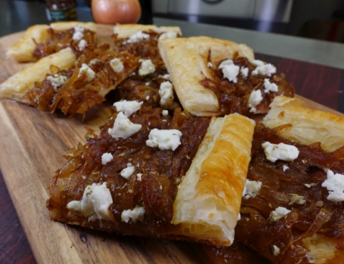 Caramelised Onion and Anchovy Tart