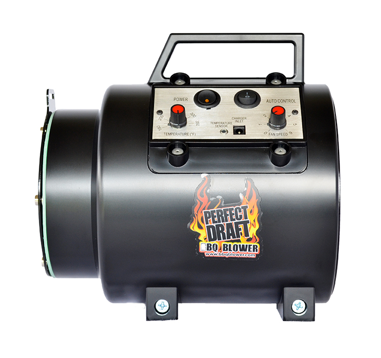 Perfect Draft Blower--Temperature Control for Offset Smokers